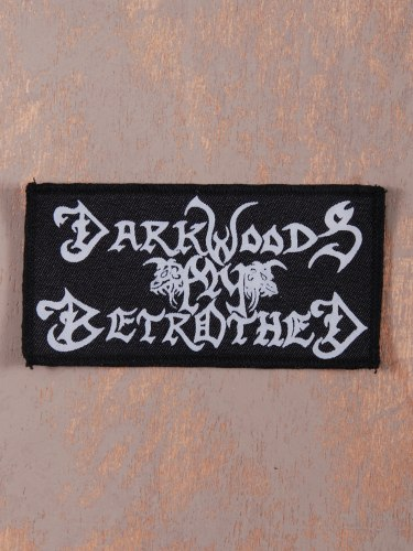 DARKWOODS MY BETROTHED - Logo Нашивка Black Metal