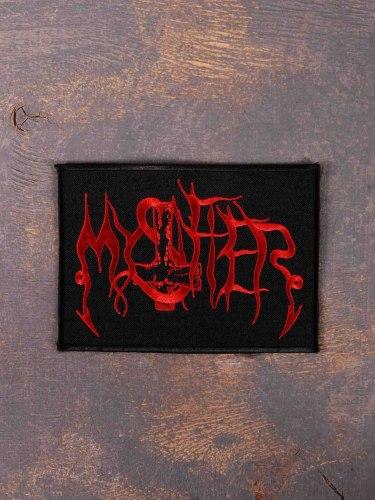 MYSTIFIER - Logo Нашивка Black Metal