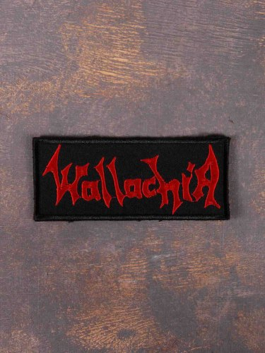 WALLACHIA - Logo Нашивка Dark Metal