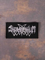 SACRAMENTUM - Logo Нашивка Black Metal