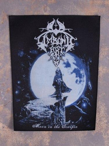 LIMBONIC ART - Moon In The Scorpio нашивка на спину Symphonic Blackened Metal