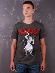 BURSHTYN - Чортория - XL Майка Blackened Metal