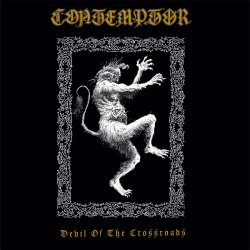 CONTEMPTOR - Devil Of The Crossroads Digi-CD Black Death Metal