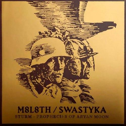 М8Л8ТХ / SWASTYKA - Sturm / Prophecies Of Aryan Moon Digi-CD NS Metal