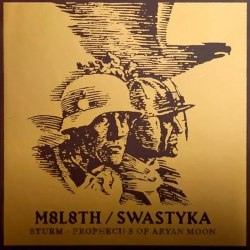 М8Л8ТХ / SWASTYKA - Sturm / Prophecies Of Aryan Moon Digi-CD NS Metal