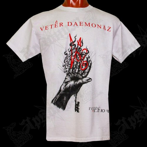 VETER DAEMONAZ - Голос ~ Ключ - L Майка Black Metal