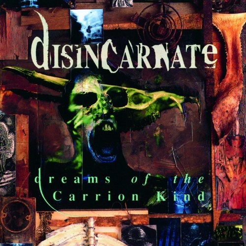 DISINCARNATE - Dreams Of The Carrion Kind CD Death Metal