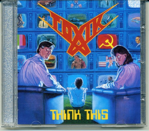 TOXIK - Think This CD Progressive Thrash Metal