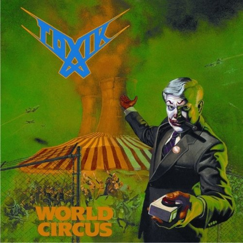 TOXIK - World Circus CD Progressive Thrash Metal