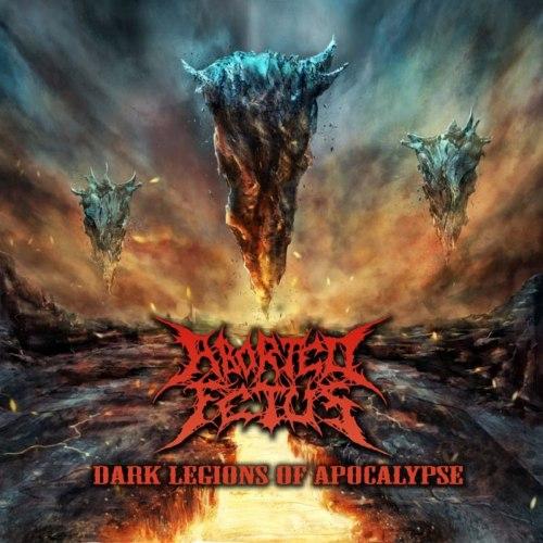 ABORTED FETUS - Dark Legions Of Apocalypse CD+DVD Brutal Death Metal