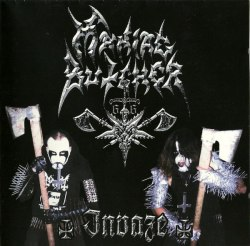MANIAC BUTCHER - Invaze CD Black Metal