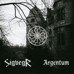 ARGENTUM / SIGVEGR - Black Sun Is Rising CD Ambient