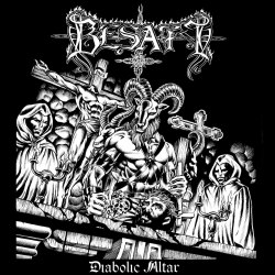 BESATT - Diabolic Altar MCD Black Metal