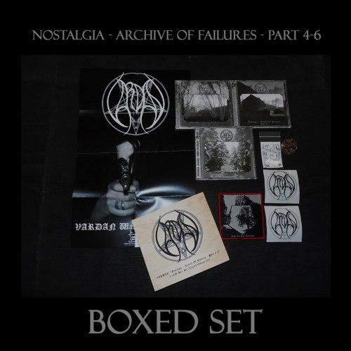 VARDAN - Nostalgia - Archive Of Failures - Part 4-6 Boxed Set Depressive Metal