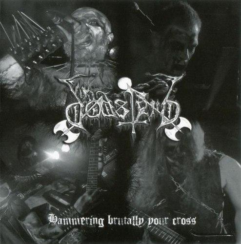 DODSFERD - Hammering Brutally Your Cross CD Black Metal
