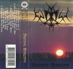 KNELL - Burning Horizons Tape Blackened Metal