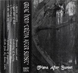 GREAT HORN - Trizna After Sunset Tape Pagan Metal
