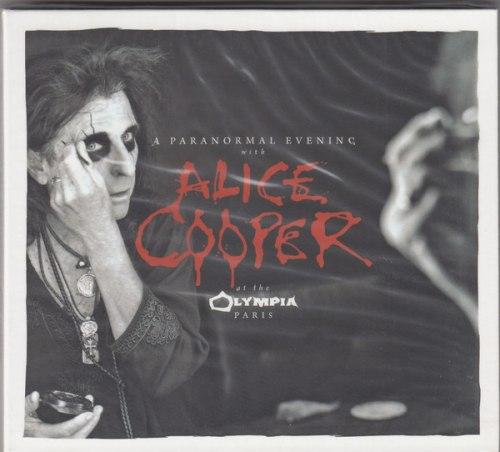 ALICE COOPER - A Paranormal Evening With Alice Cooper At The Olympia Paris Digi-2CD Dark Rock