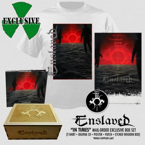 ENSLAVED - In Times Boxed Set Progressive Nordic Metal