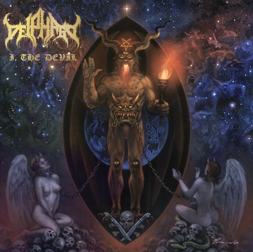 DEIPHAGO - I, the Devil Digi-CD Black Metal