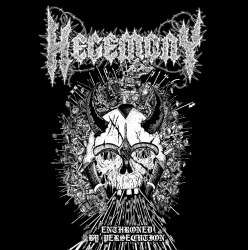 HEGEMONY - Enthroned By Persecution CD Black Death Metal