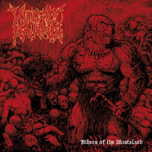 VIOLENT HAMMER - Riders Of The Wasteland CD Death Metal