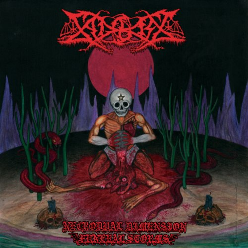 SADOKIST - Necrodual Dimension Funeral Storms CD Blackened Thrash Metal