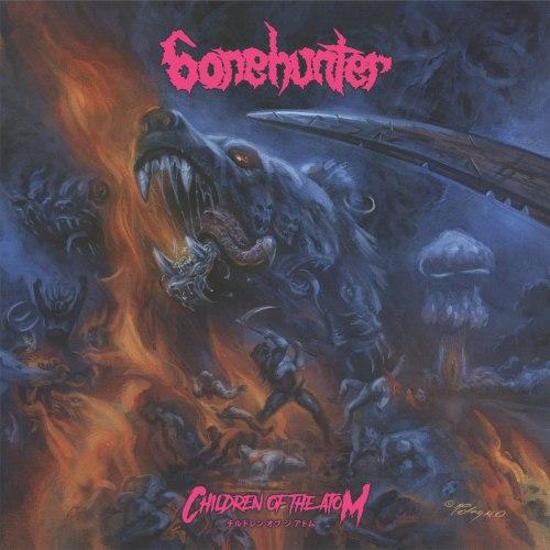 BONEHUNTER - Children Of The Atom CD Thrash Metal