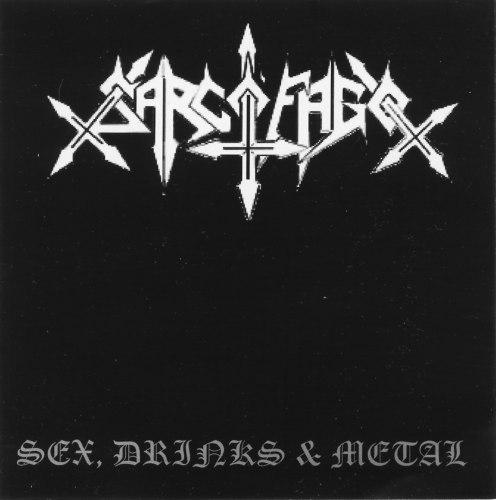 SARCOFAGO - Sex, Drinks & Metal CD Black Thrash Metal