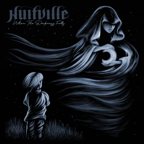 NUITVILLE - When The Darkness Falls Digi-MCD Atmospheric Metal