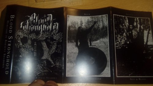 BLOOD STRONGHOLD - Heritage In Ancient Shadows Tape Atmospheric Heathen Metal