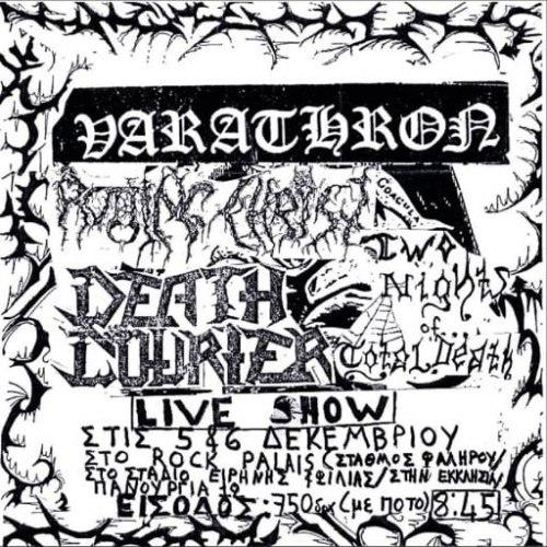VARATHRON - Live At The Swamp 1990 CD Black Metal