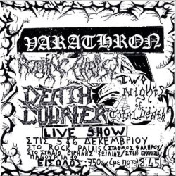 VARATHRON - Live At The Swamp 1990 CD Black Metal