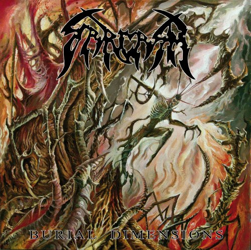 SARCASM - Burial Dimensions CD Blackened Death Metal