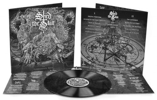 SHED THE SKIN - The Forbidden Arts Gatefold LP Death Metal