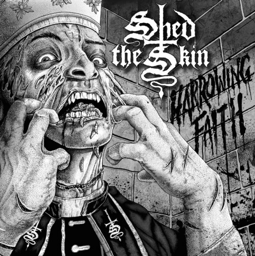 SHED THE SKIN - Harrowing Faith Gatefold LP Death Metal