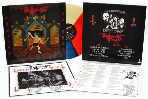 DEATHHAMMER - Chained To Hell LP Thrash Metal