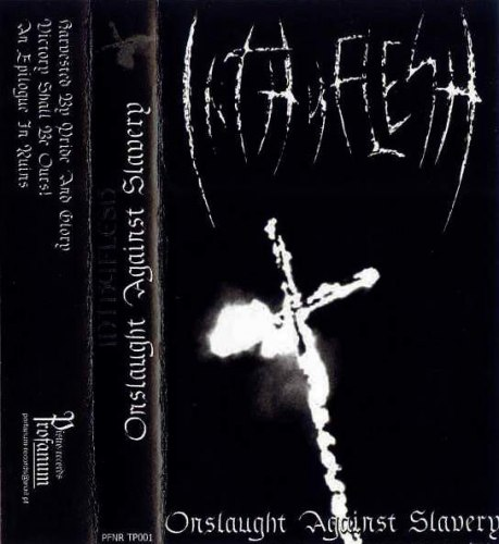 INTHYFLESH - Onslaught Against Slavery Tape Black Metal