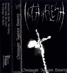 INTHYFLESH - Onslaught Against Slavery Tape Black Metal
