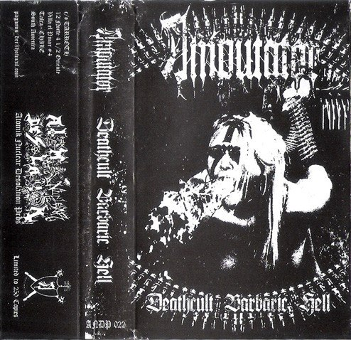 AMPUTATOR - Deathcult Barbaric Hell Tape Black Metal