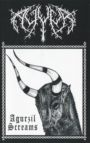AYYUR - Agurzil Screams Tape Blackened Metal