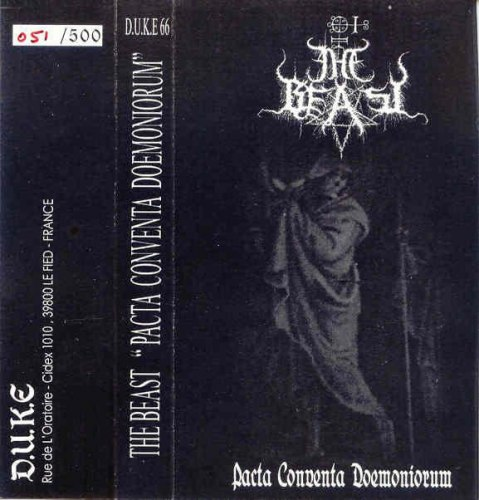 THE BEAST - Pacta Conventa Doemoniorum Tape Black Metal