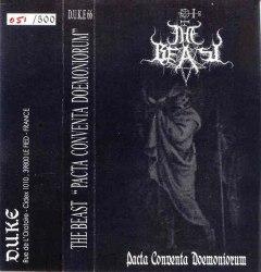 THE BEAST - Pacta Conventa Doemoniorum Tape Black Metal