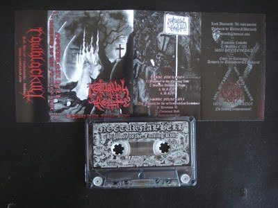 NOCTURNAL HELL - Highway To The Fucking Cult Tape Black Thrash Metal