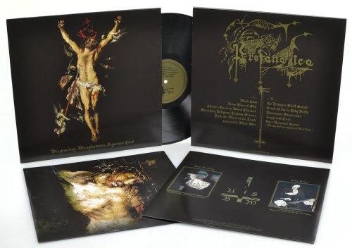 PROFANATICA - Disgusting Blasphemies Against God LP Black Metal