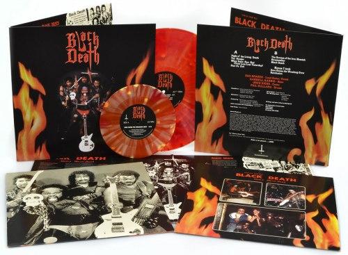 "BLACK DEATH - Black Death Gatefold LP+7""EP Heavy Metal"