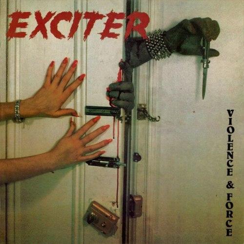 EXCITER - Violence & Force LP Speed Thrash Metal