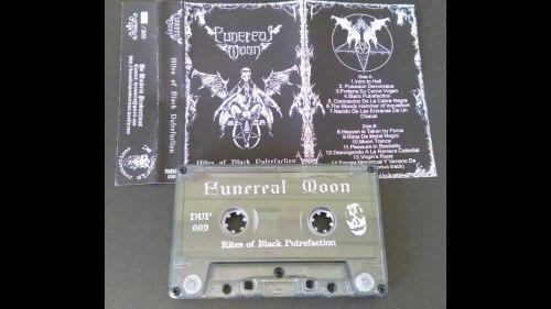 FUNEREAL MOON - Rites Of Black Putrefaction Tape Black Metal