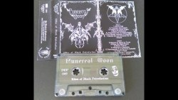 FUNEREAL MOON - Rites Of Black Putrefaction Tape Black Metal