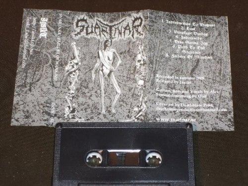 SVARTNAR - Failure Of Mankind Tape Black Metal